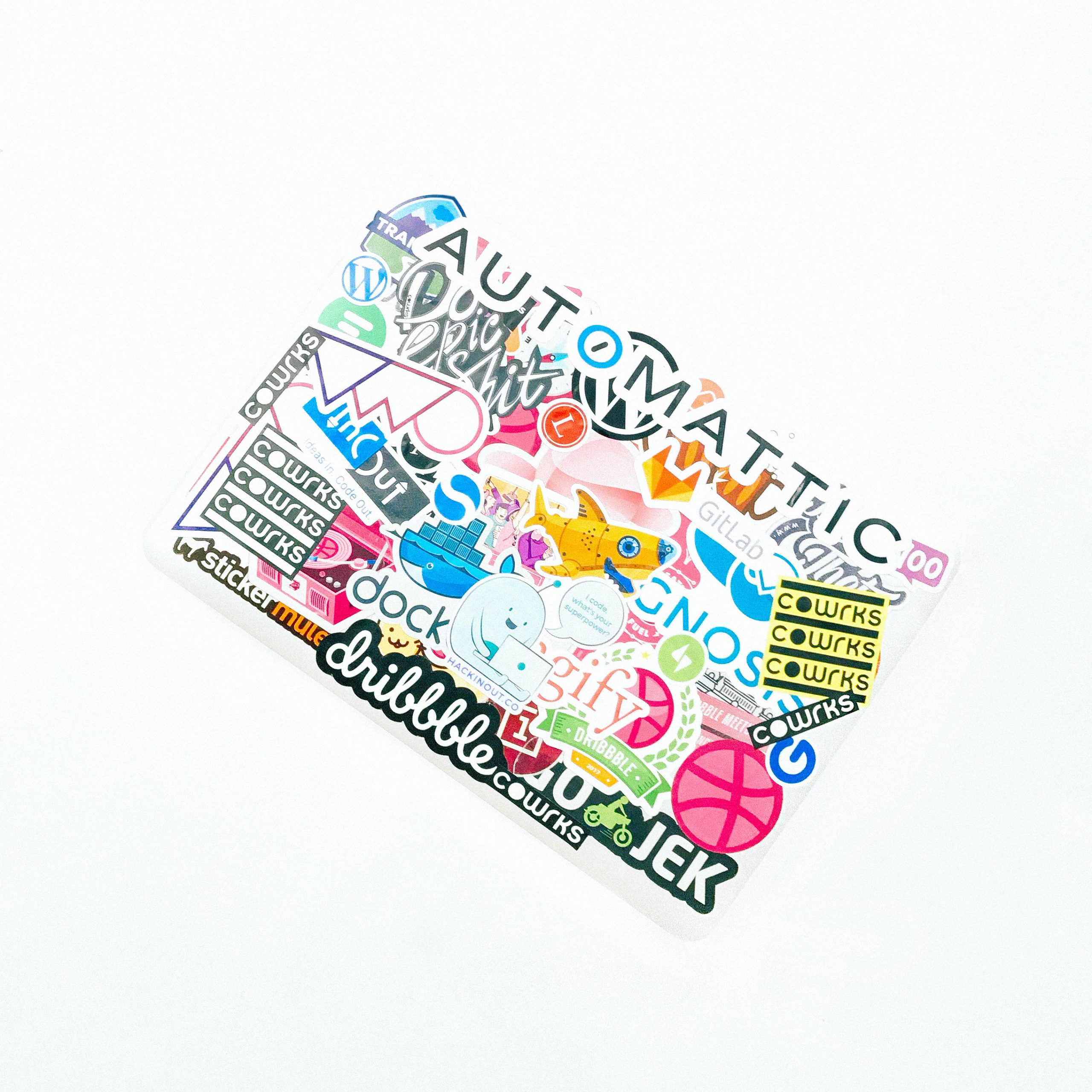 Automatic sticker pack